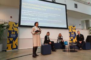 Seminar event at the University of Michigan.